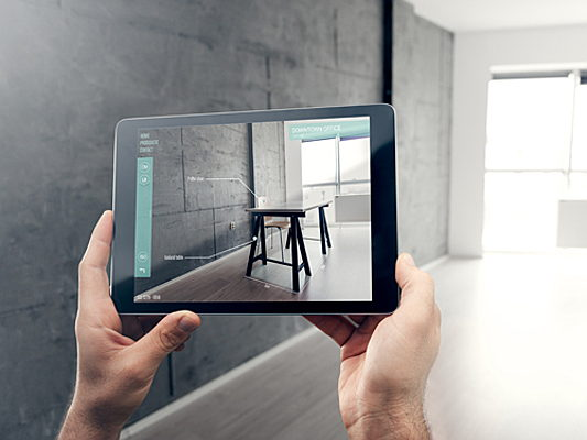 Padova - The future: augmented reality real estate