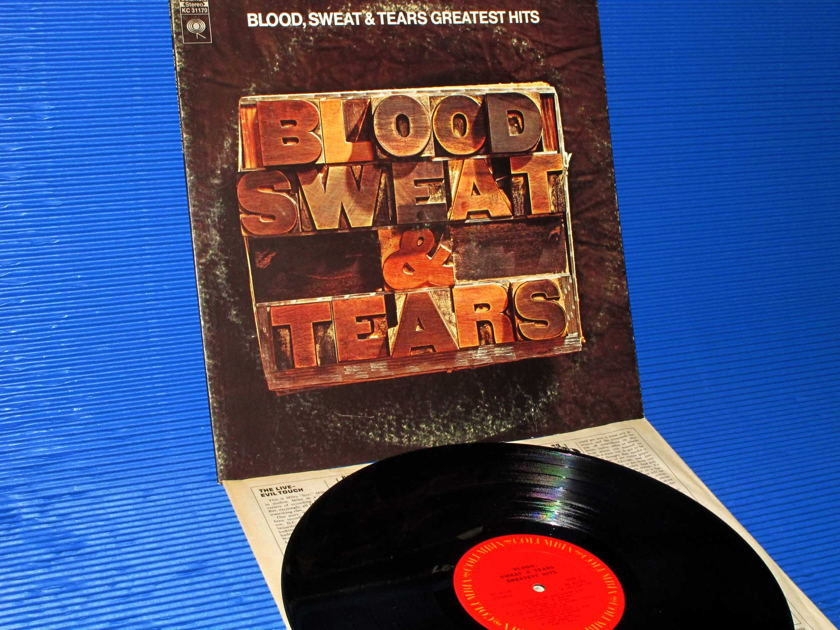 "BLOOD, SWEAT & TEARS - - ""Greatest Hits"" - Columbia 1972"