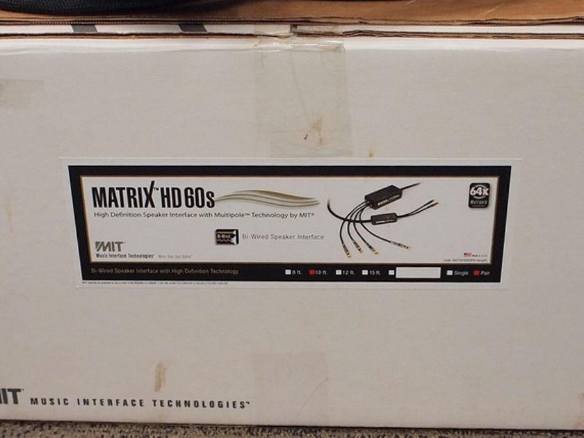 *** MIT Matrix HD 60 Bi-Wire Speaker 10FT  ( ** NEW $8079 ** LOWEST PRICE ** )