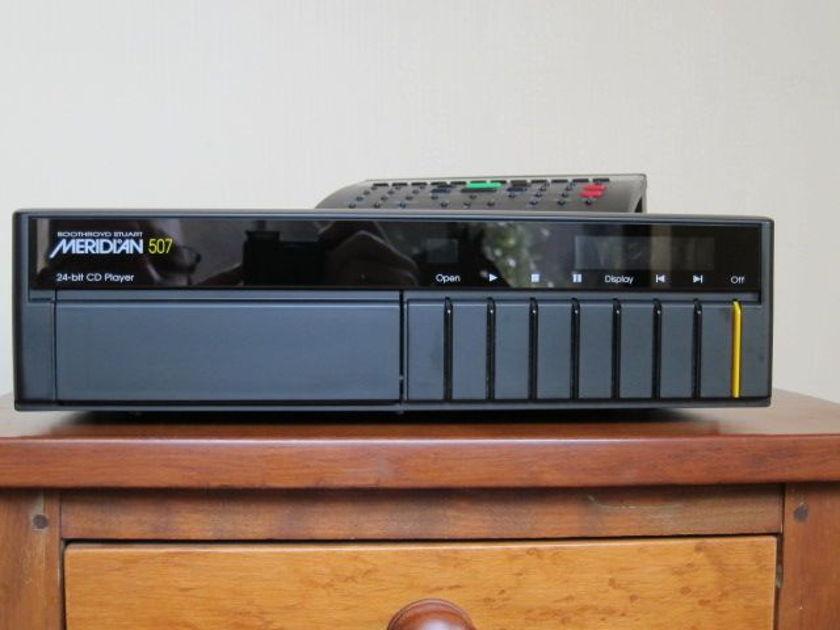 Meridian 507 24 bit cd player - excellent