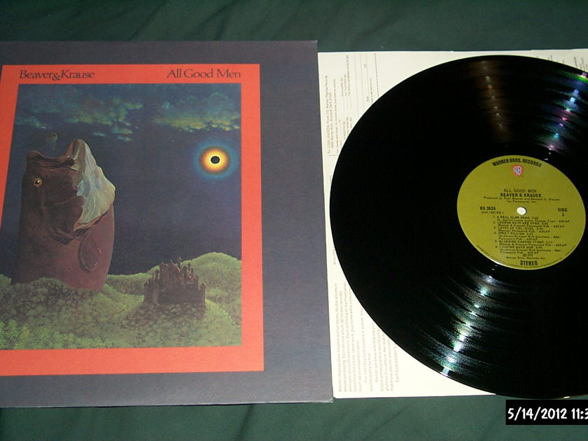 Beaver & krause - All Good Men lp nm