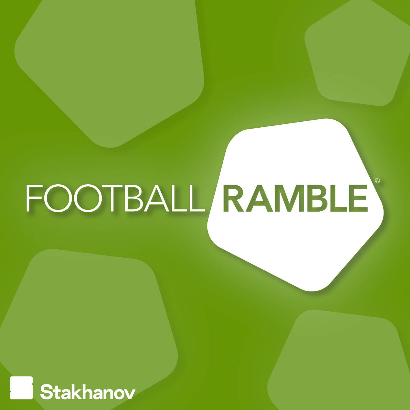 The artwork for the Football Ramble podcast.