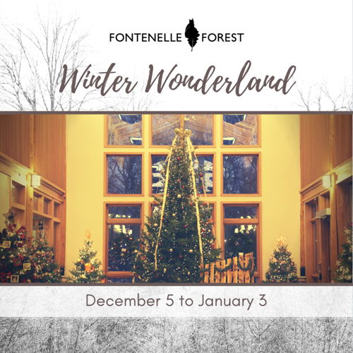 Picture of Experience a festive Winter Wonderland at Fontenelle Forest.