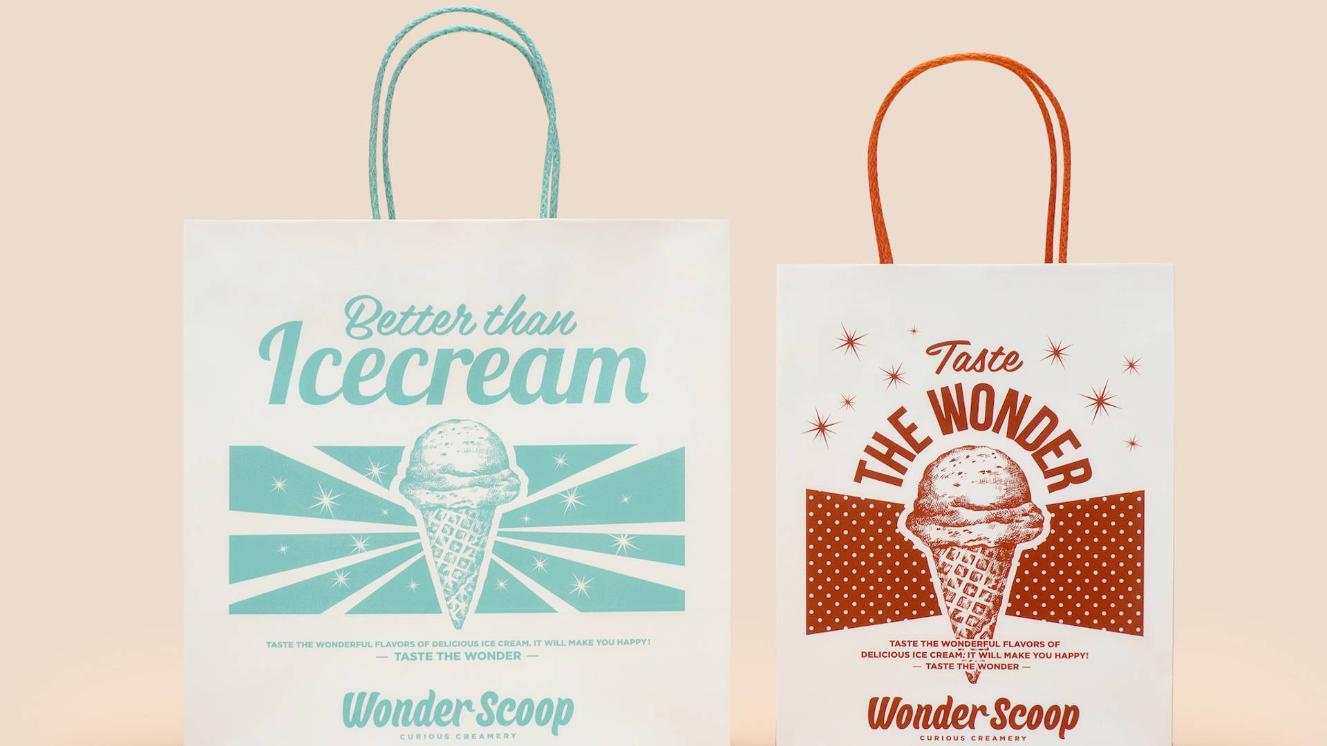 498ca1c8ed3e93 Vintage Inspiration + Sassy Phrases   One Adorable Ice Cream Brand ...