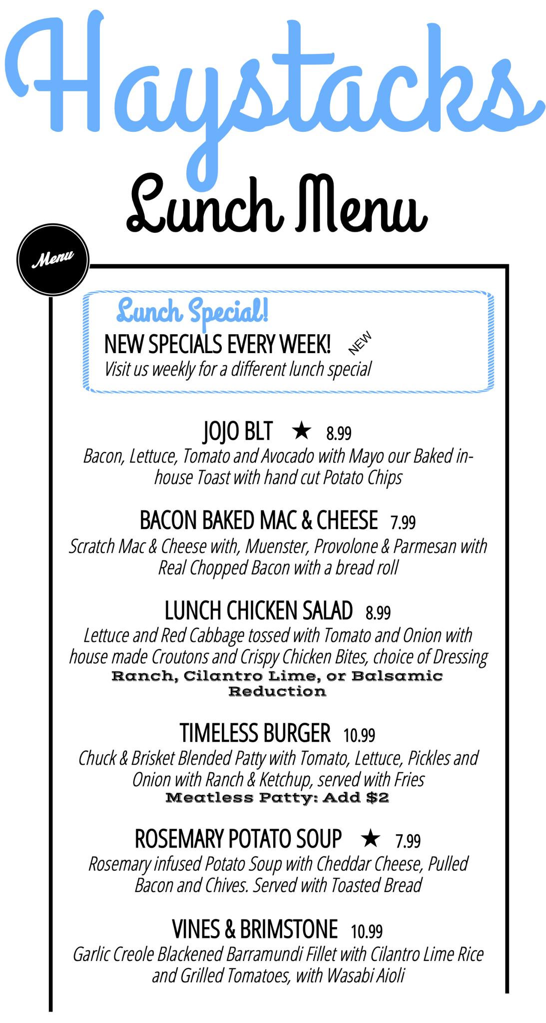 Haystacks quick lunch menu   v1.4 4