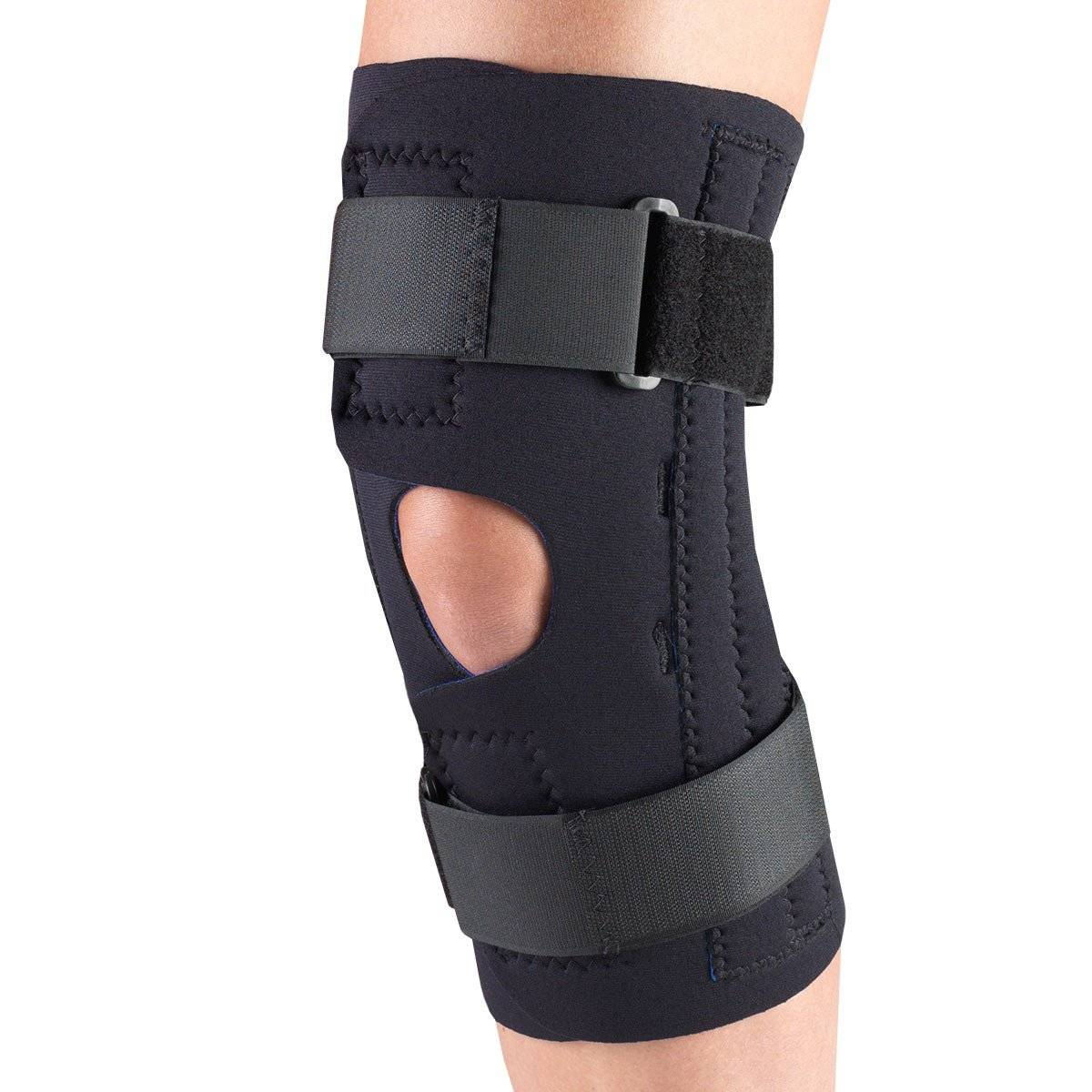 0312 / NEOPRENE KNEE STABILIZER WRAP - SPIRAL STAYS