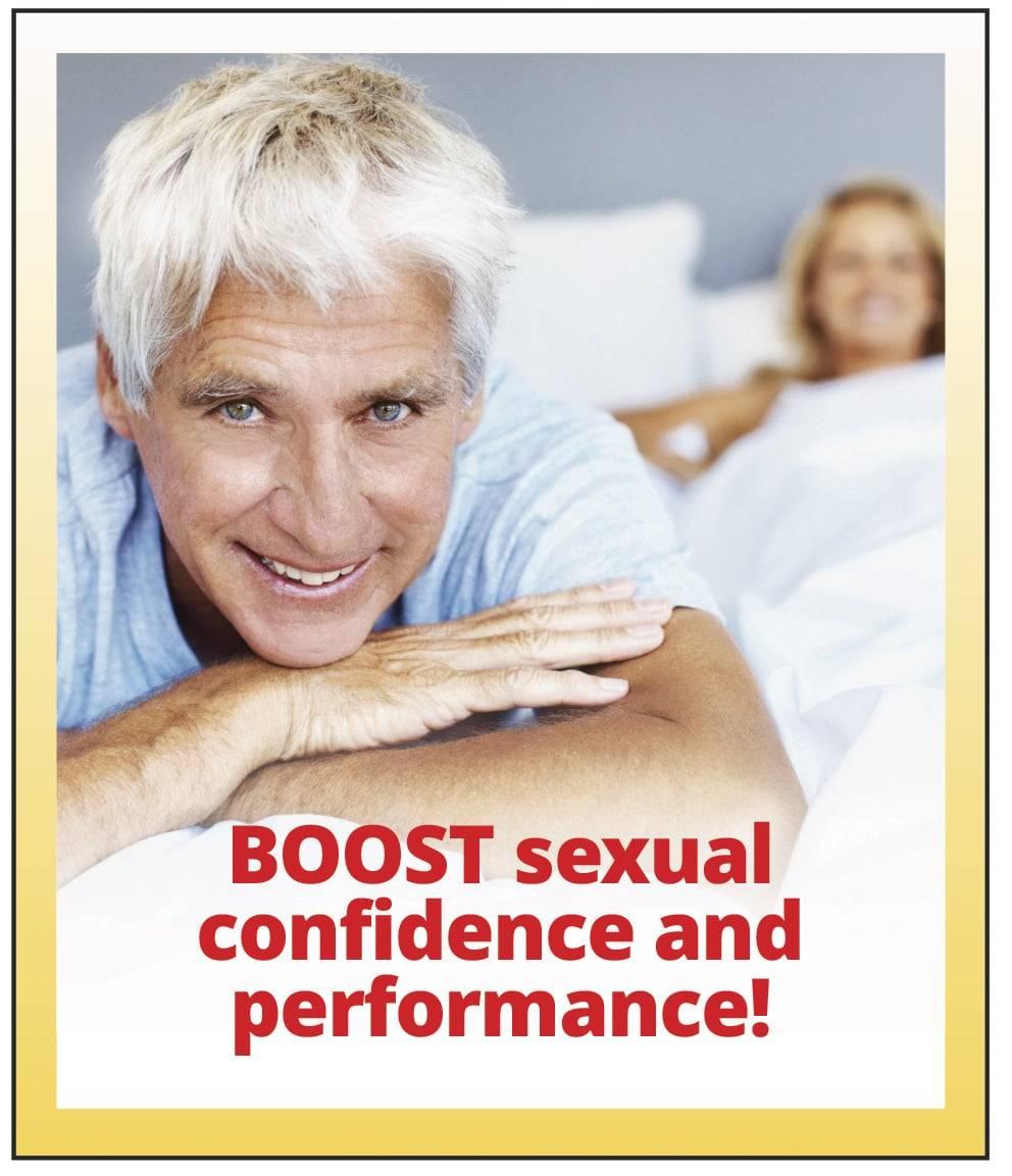 Boost sexual confidense