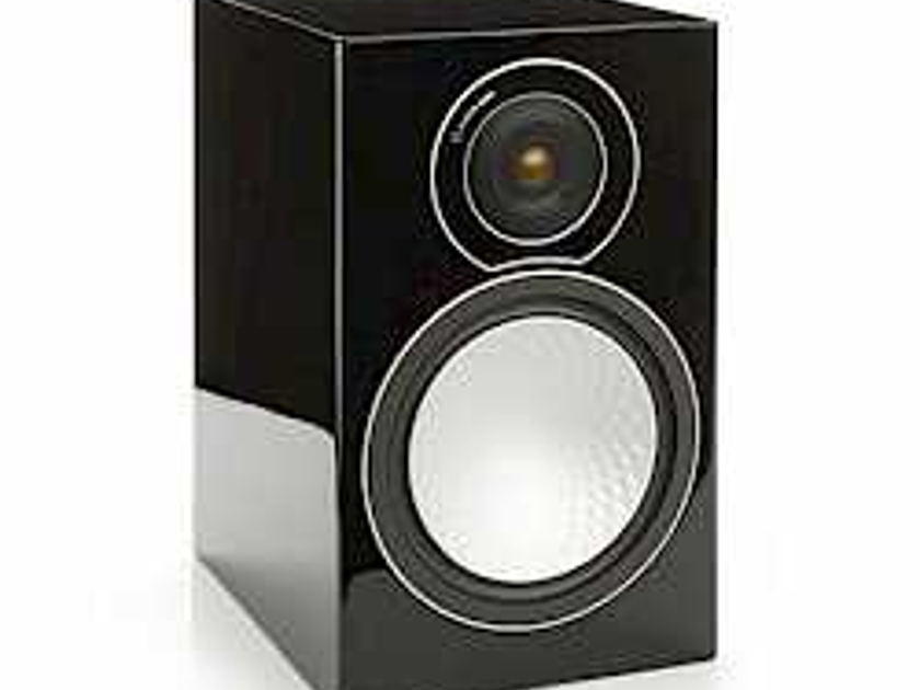 Monitor Audio Silver 2 Bookshelf Speakers Black Gloss