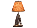 Double Feather Table Lamp