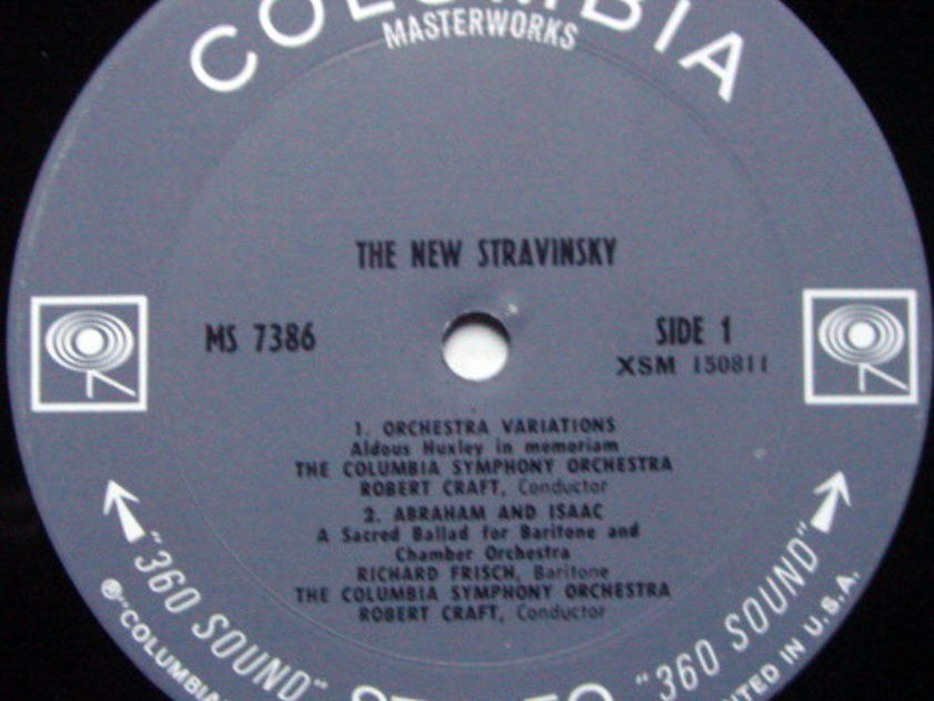 Columbia 2-EYE /  - The New STRAVINSKY, NM!
