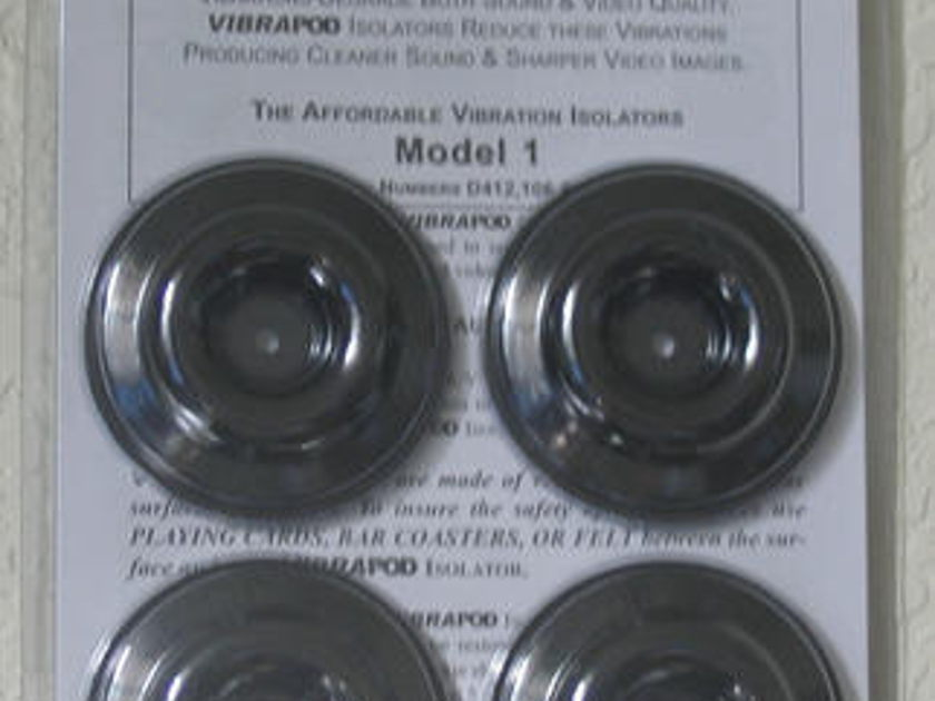 VIBRAPOD ISOLATORS STEREOPHILE RECOMMENDED QUANTITY DISCOUNTS
