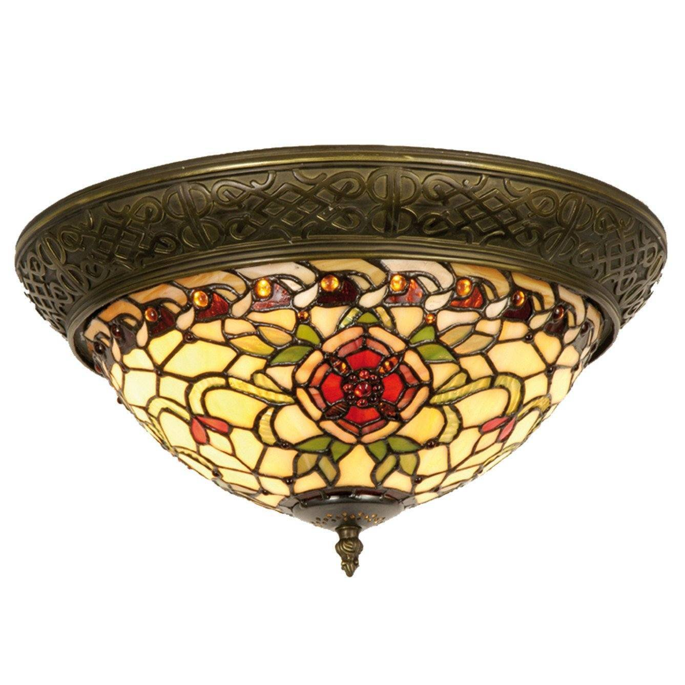 tiffany lamps flush ceiling lights sale