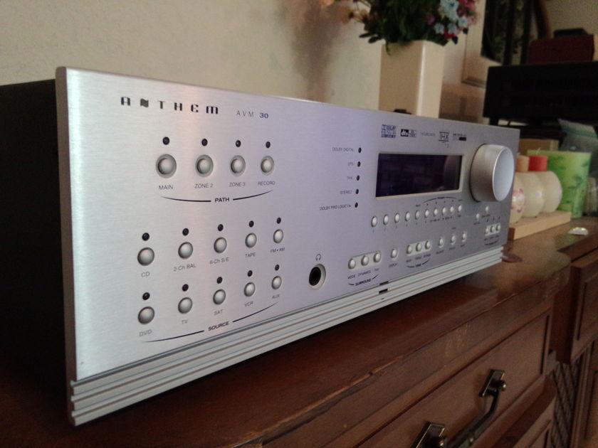 Anthem AVM 30 ( Silver ) Preamp/Processor