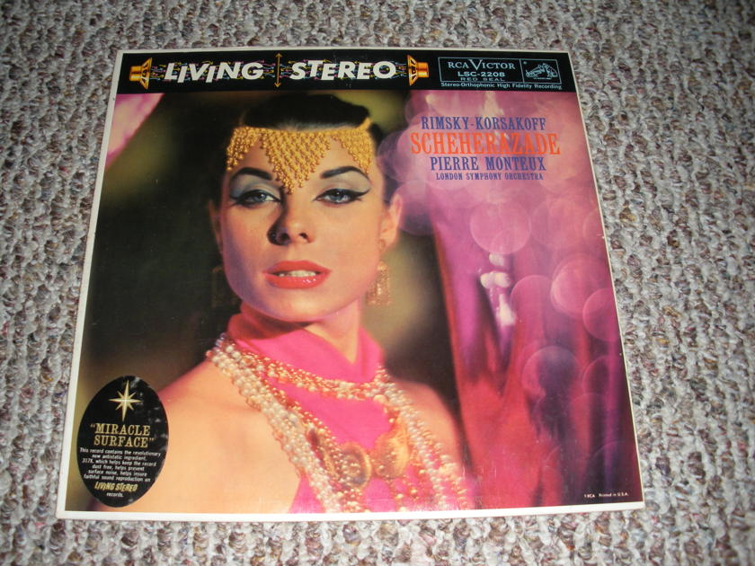 * NM RARE * LIVING STEREO SHADED DOG - SCHEHERAZADE RIMSKY MONTEUX SHADED DOG LSC 2208