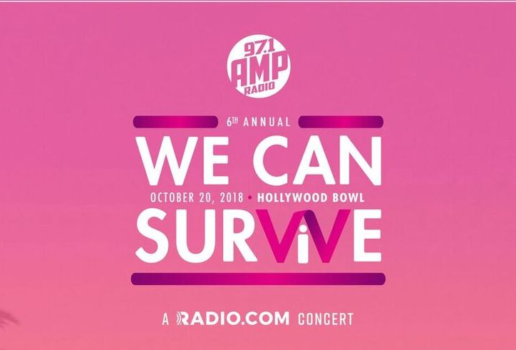 97.1 AMP RADIO's 6th Annual We Can Survive artwork