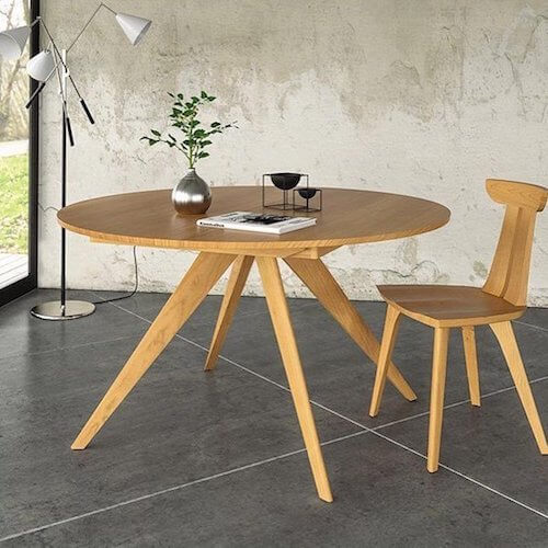 Copeland Furniture Catalina Round Extension Table