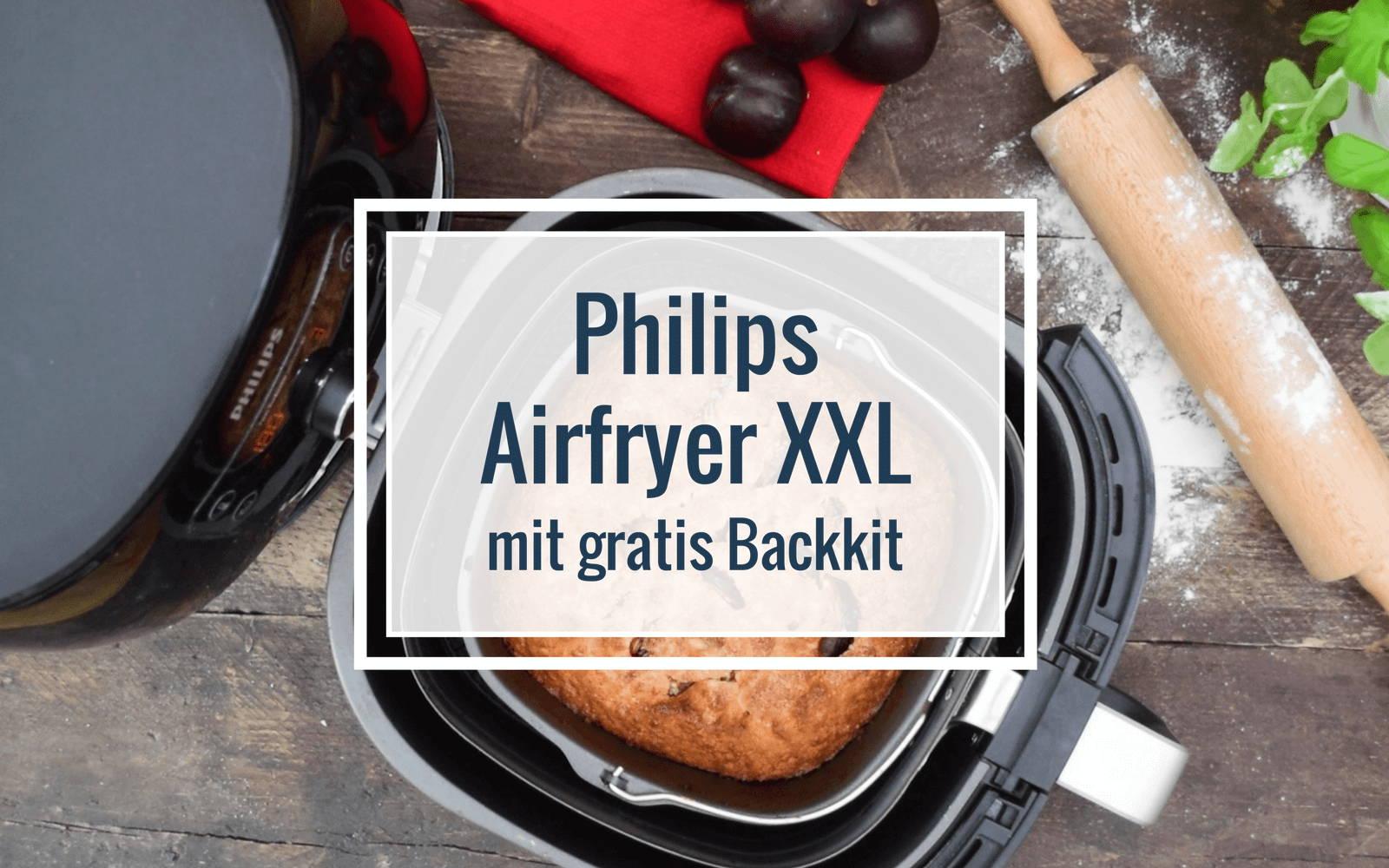 Airfryer XXL mit Backkit