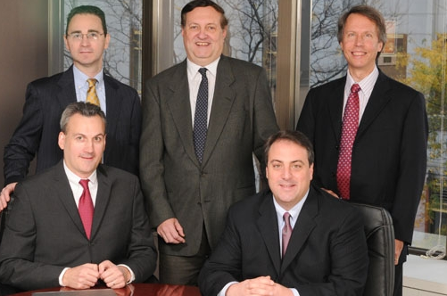 The principals of the new Modera Wealth Management will be [clockwise from upper left]: Greg Plechner, John LeBlanc, Bob Siefert, Tom Orecchio and Mark Willoughby