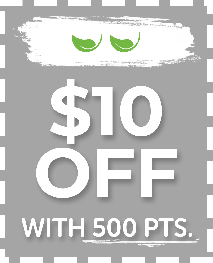 $10 Off with 500 points