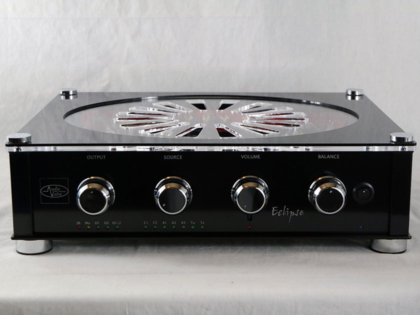 Audio Valve Eclipse highly acclaimed line stage - hand made in Germany