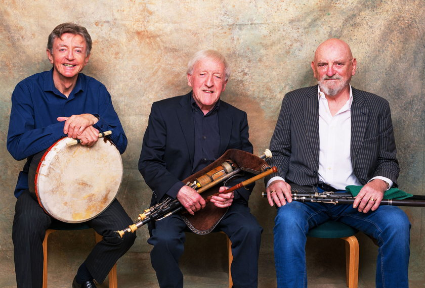 The Chieftains' Irish Goodbye Tour artwork