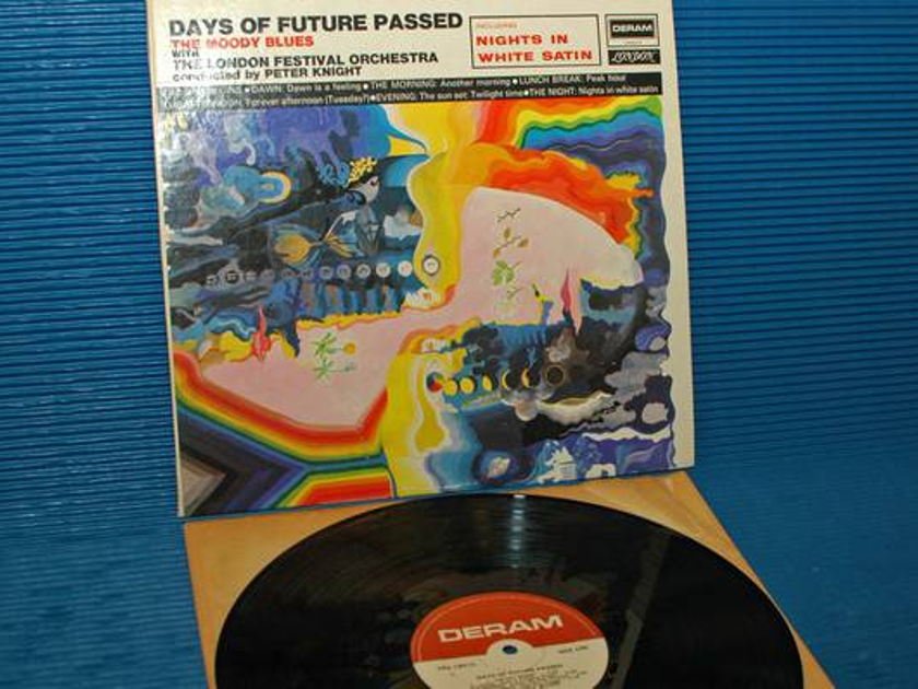 """THE MOODY BLUES - - """"Days of Future Passed"""" - Deram 1985"""