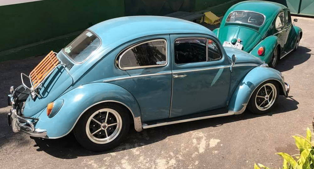 volkswagen beetle on klassik rader rally