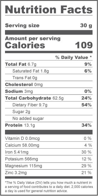 Rolled Oats Nutrition Fact