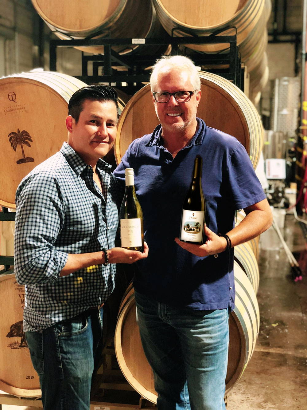 Patrick Braid and Doug Margerum for Montecito Wine Company