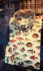 Eton Fish Themed Shirt