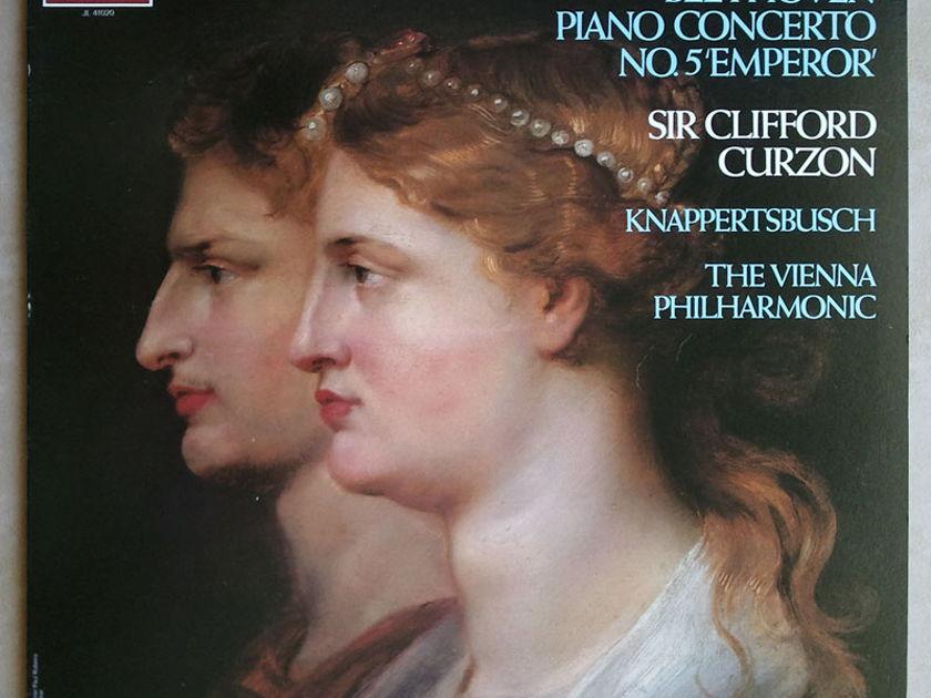 """London ffrr   CLIFFORD CURZON/BEETHOVEN - Piano Concerto No. 5 """"Emperor"""" / NM"""