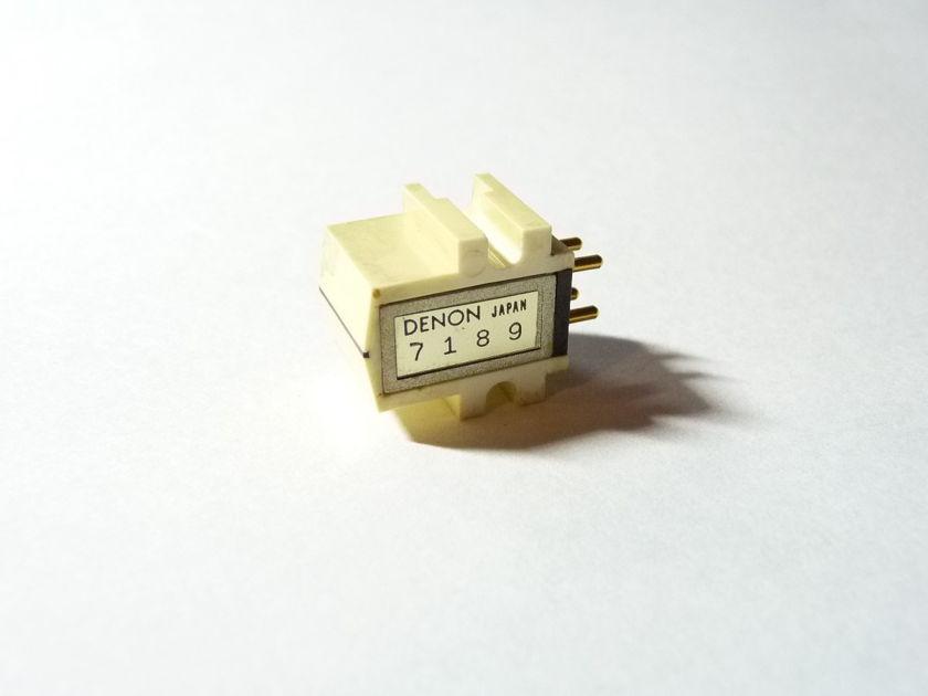 Denon DL-303 cartridge Low Output Moving Coils LOMC