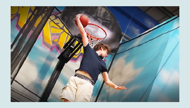 airhop basketball slam