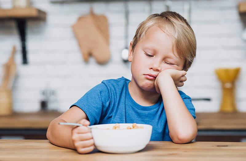 Kid get a good night sleep