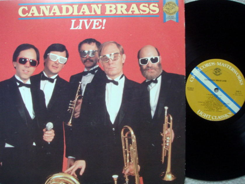 CBS / CANADIAN BRASS, - Live !, MINT!