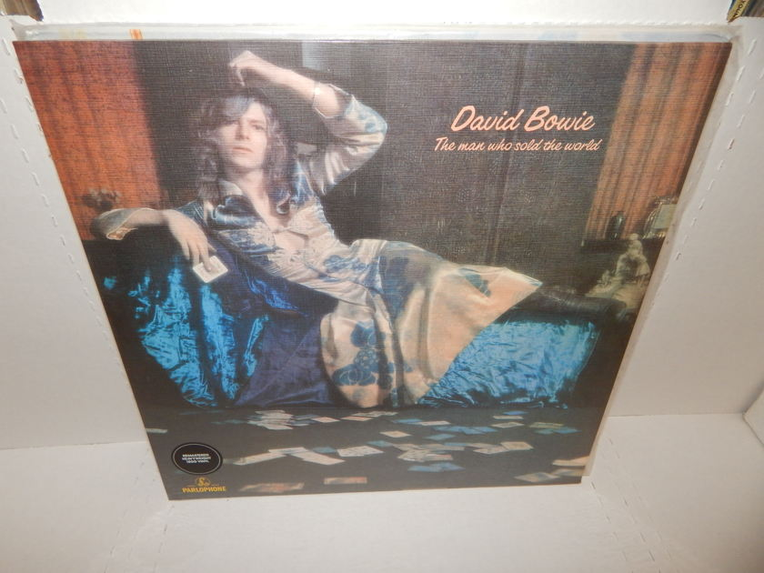 DAVID BOWIE The Man Who Sold The World - Heavy Weight 180G Vinyl UK Parlophone Brand New Factory SEALED LP