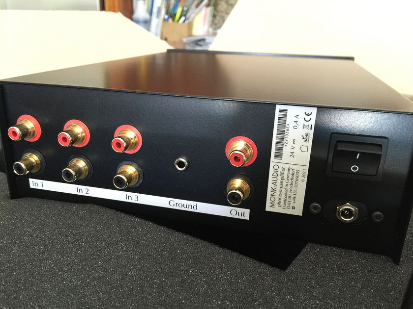 Monk Audio Phono Preamp - MM/MC/Stereo/Mono - Brand New in Box