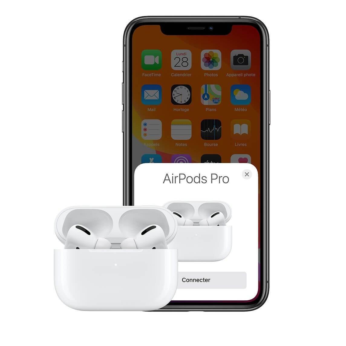 comparatif amsung avec les airpods pro apple