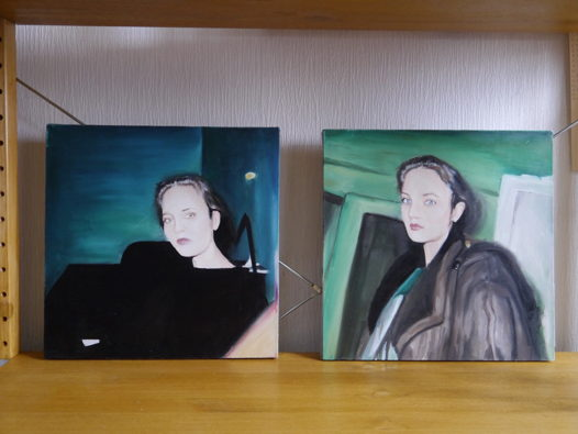 Картины маслом, диптих 'Молодость'