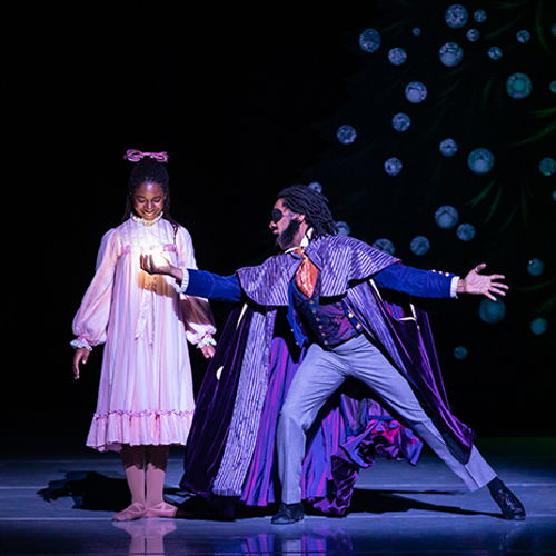 Picture of In partnership with Nashville Ballet, Cheekwood will display a collection of nutcrackers and costumes from Nashville's Nutcracker throughout the Historic Mansion & Museum.