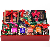 The Big Red Chocolate Santa Hamper