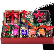 The Big Red Chocolate Santa Hamper