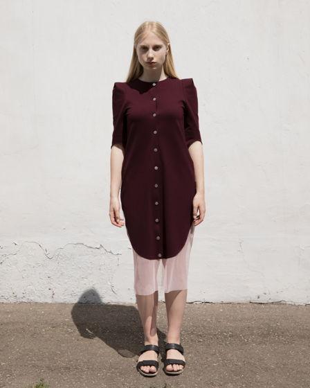 Женское платье, из джерси