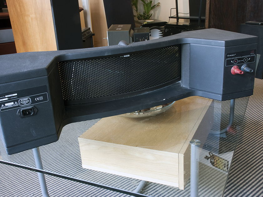 Martin Logan Cinema.  Hybrid Electrostatic Center Speaker.