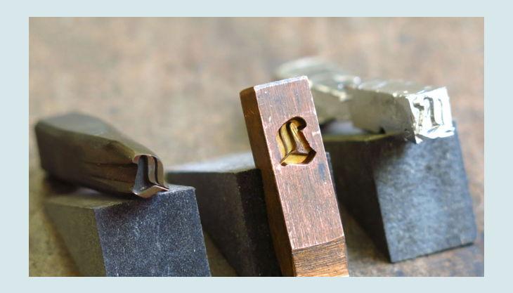 stiftung werkstattmuseum für druckkunst leipzig stanz stempel