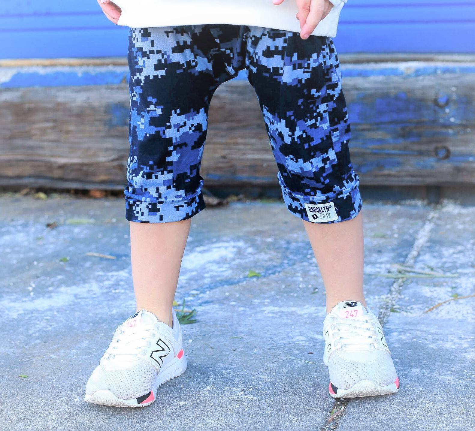 Brooklyn + Fifth Toddler Camo Harem Pants. Stylish Toddler Pants. Camo Pants for boys. Soft toddler Pants. Infant Camo Pants. Baby Pants. Baby Camo Pants. Kids Pants. Made in the USA