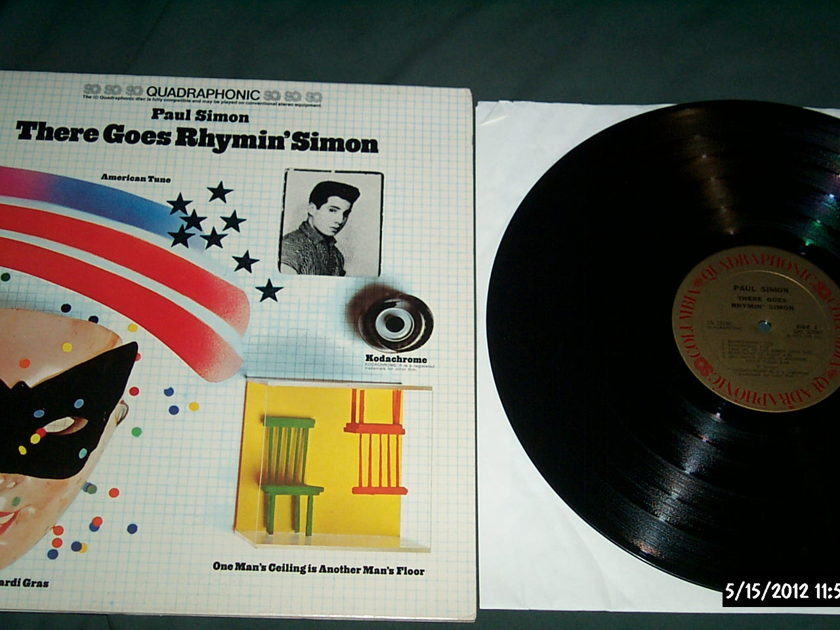 Paul Simon - There Goes Rhymin Simon SQ Quadraphonic LP NM