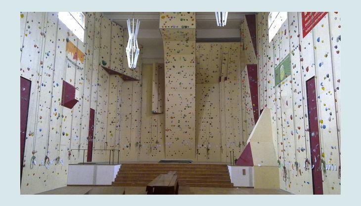 kletterkirche die kletterhalle a