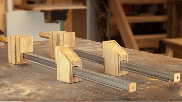 wood holding clamps