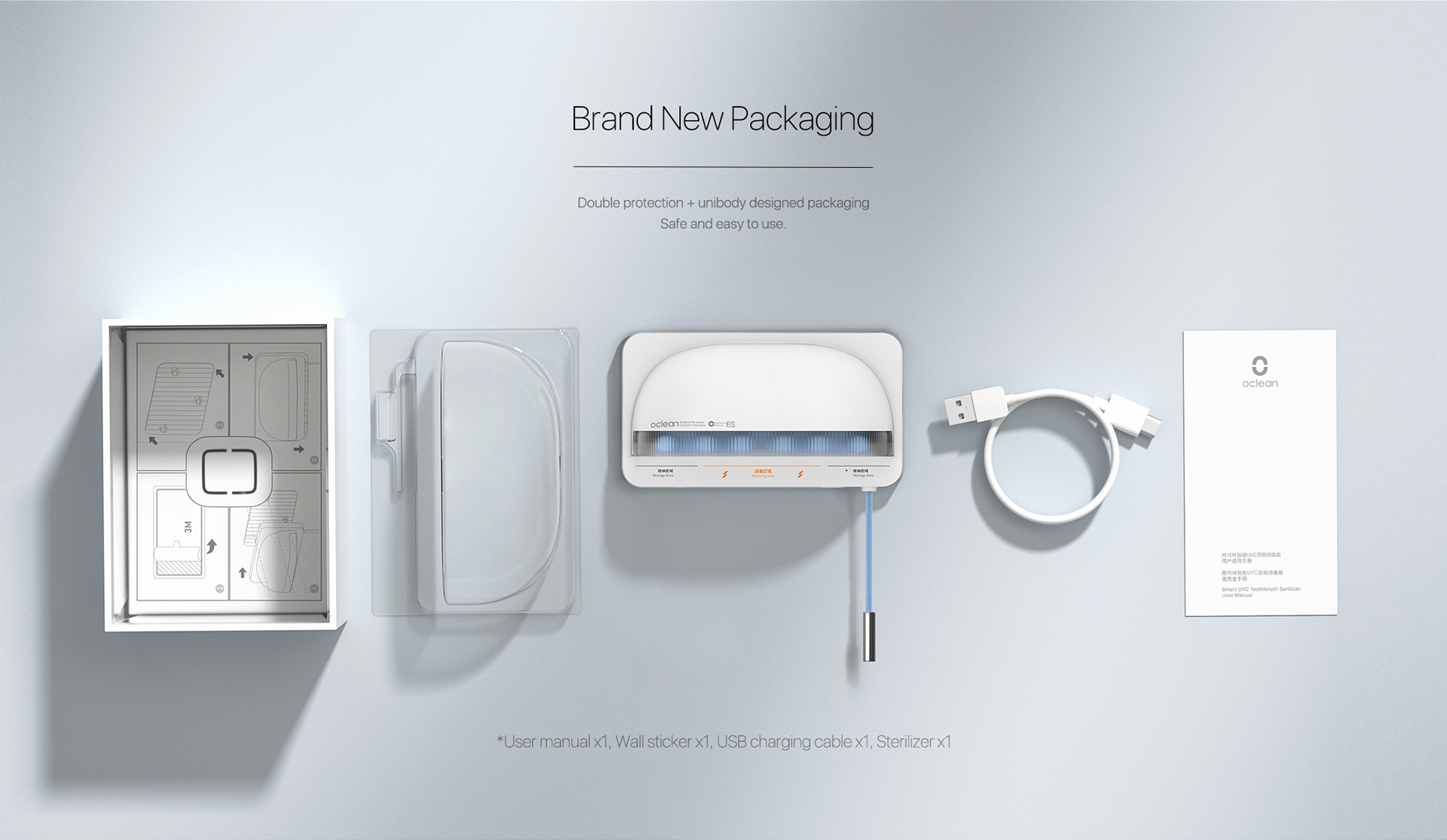 brand new packaging